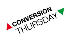 Conversion Thursday en Bilbao, 11 de marzo