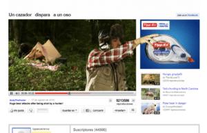 La campaña de Tipp-ex y el oso en Youtube